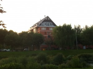 2011-07-15 Camino Santiago Ramond hotel