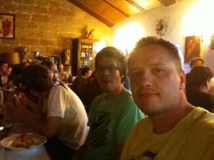 2011-07-15 Camino Santiago Ramond eten