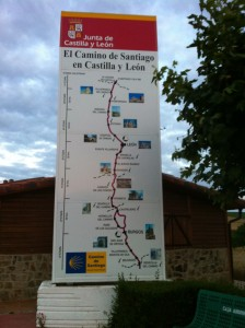Camino de Santiago plan