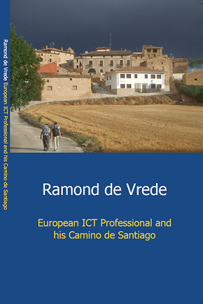 European ICT Professional and his Camino de Santiago Cover English Edition